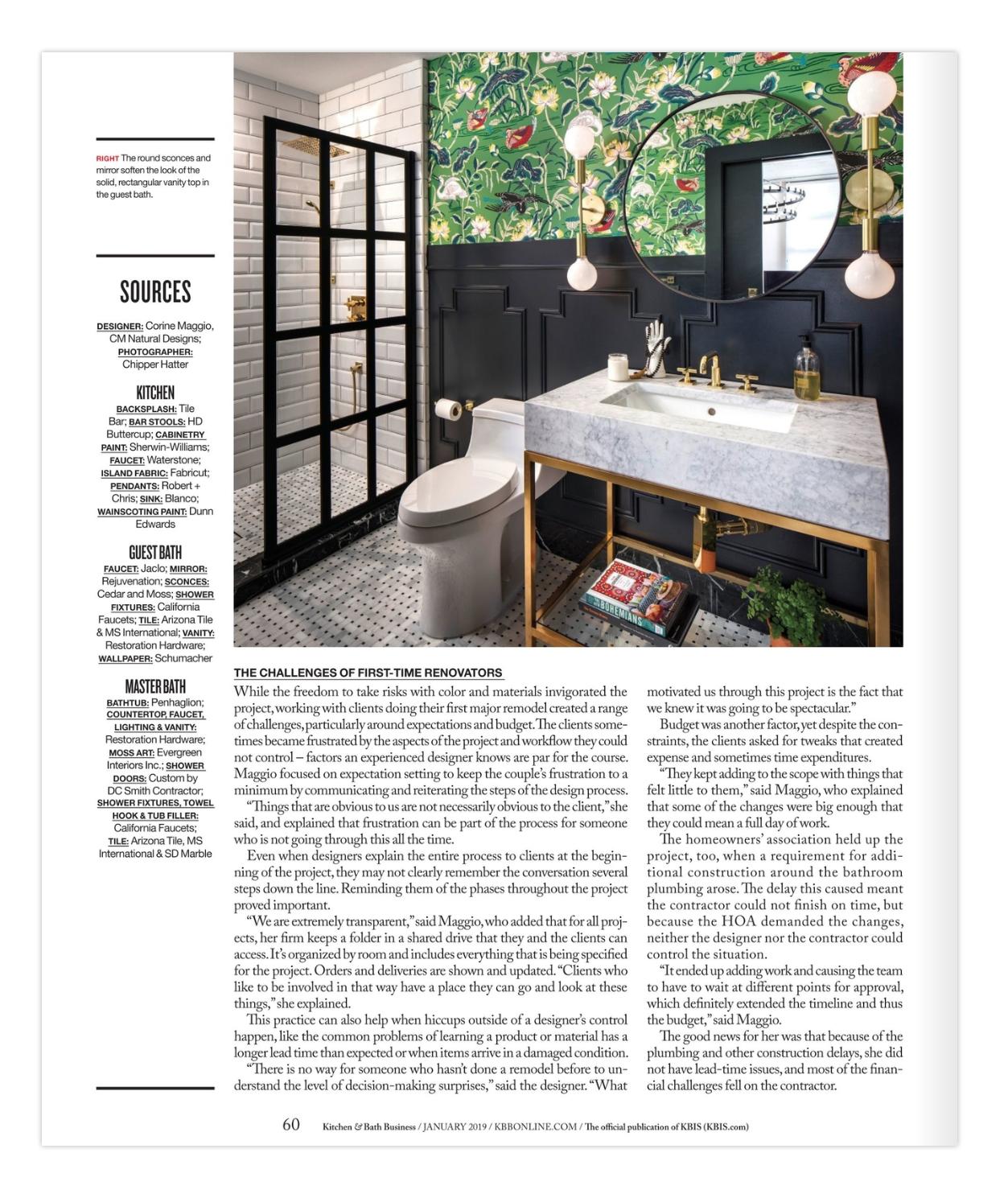 Miraculous Kitchen And Bath Business Corine Maggio Natural Designs Interior Design Ideas Tzicisoteloinfo